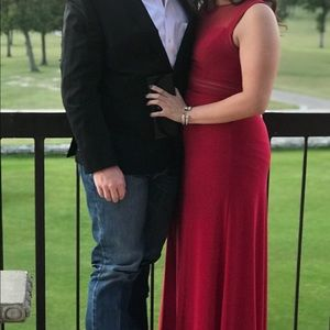 Red Formal Dress Size 14
